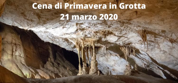 Cena di Primavera in Grotta
